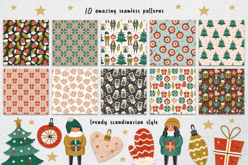 christmas-seamless-patterns-digital-paper-scandi-design