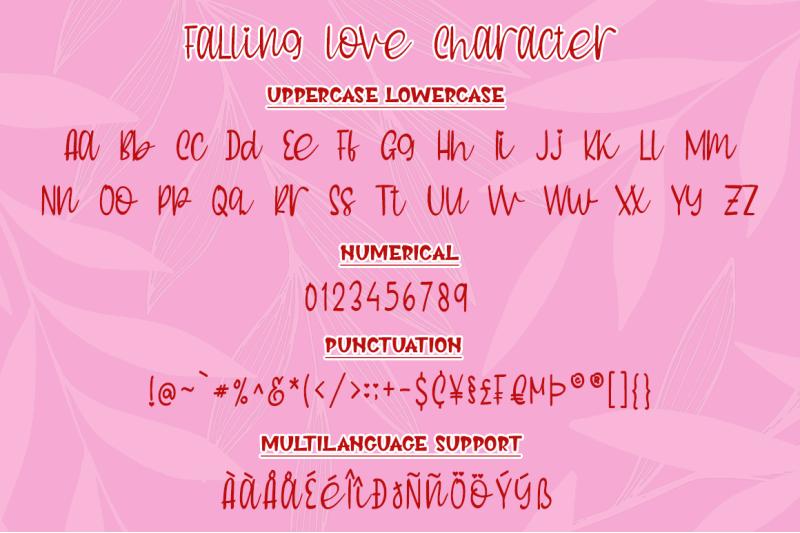 falling-love-quirky-handwritten-font