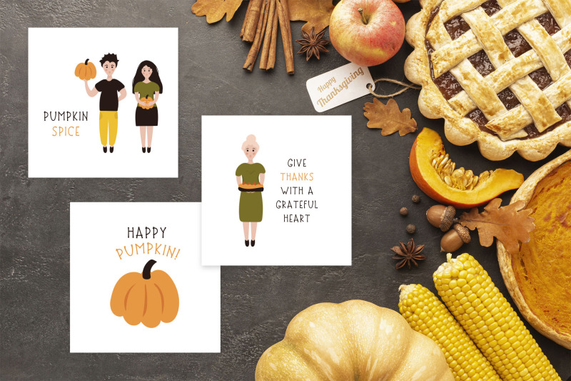 thanksgiving-font-and-graphics-pack