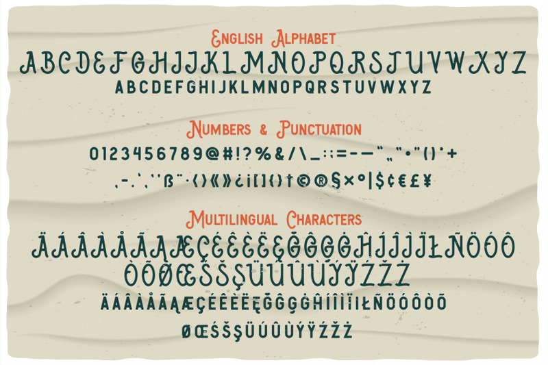 big-wave-layered-font