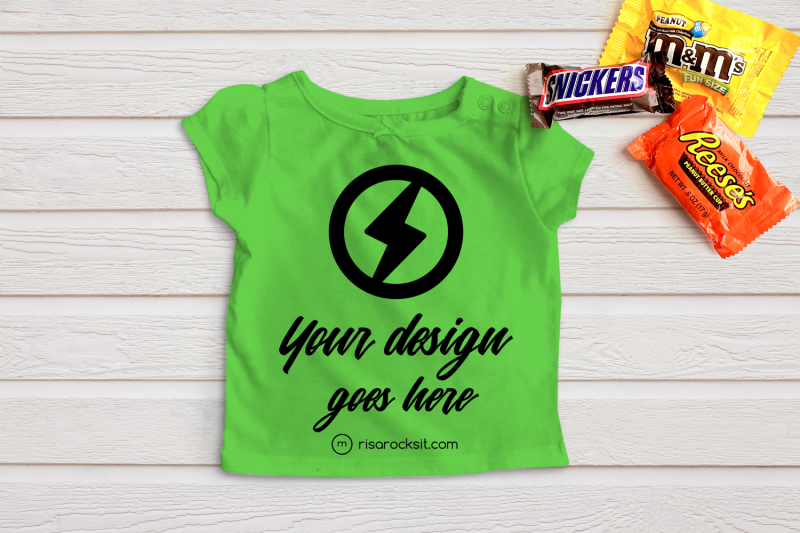 child-039-s-tee-with-halloween-candy-png-mock-up