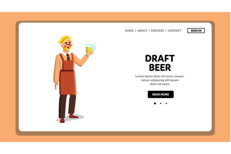draft-beer-drink-glass-holding-pub-client-vector