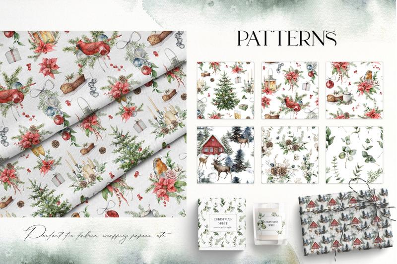 christmas-spirit-watercolor-winter-bundle