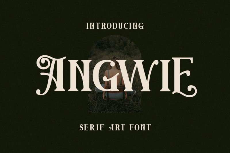 angwie-serif-art-font