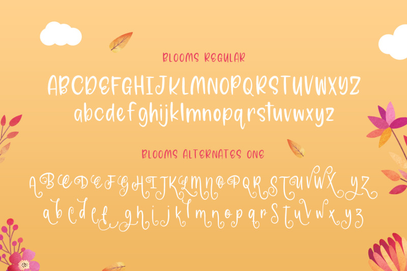 blooms-font-family