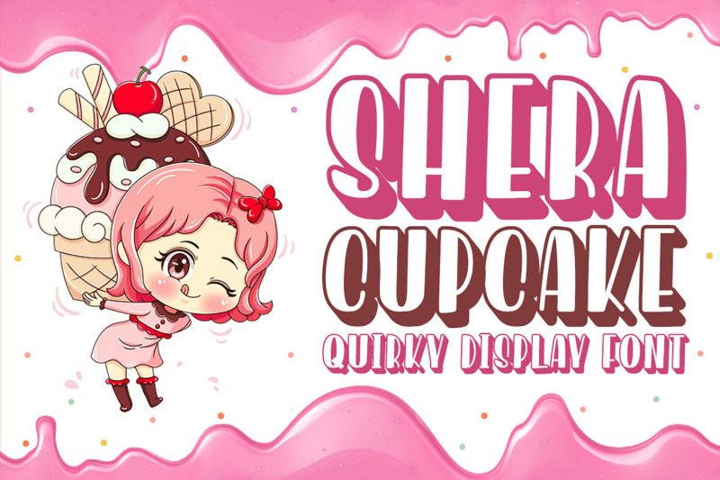 shera-cupcake-sweet-display-font