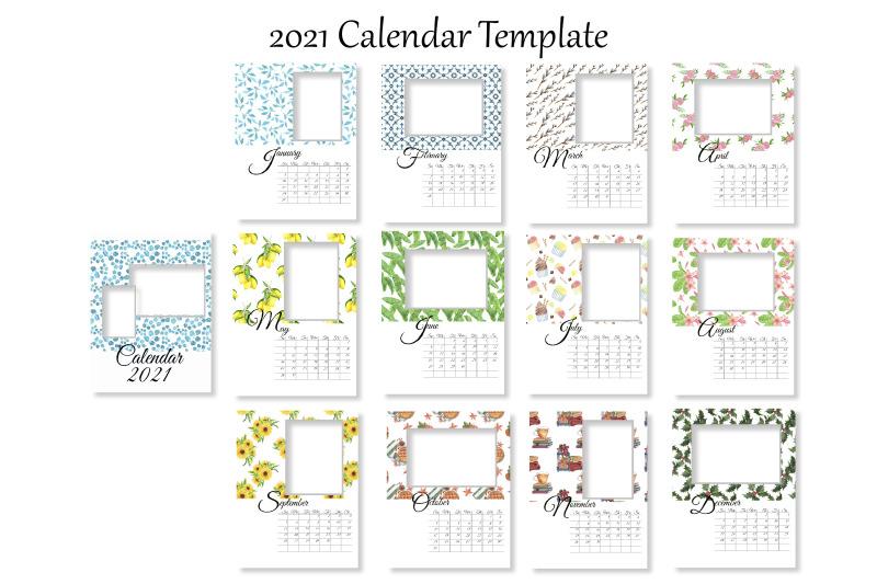 2021-photo-calendar-template-printable-editable-calendar-monthly-wal