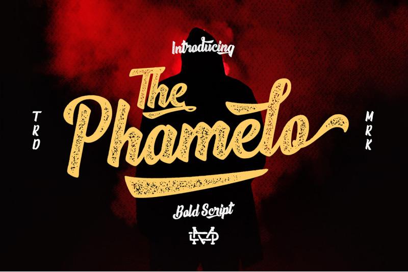 phamelo-bold-script