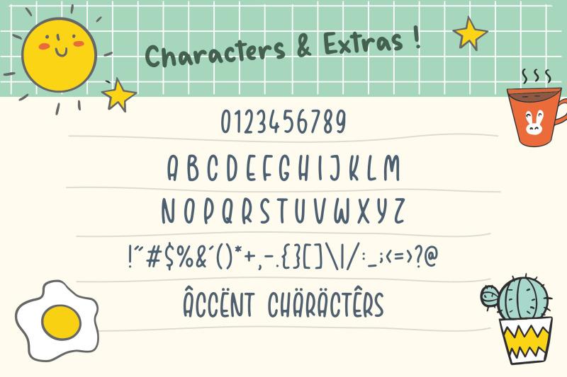 bodynote-fun-handbrushed-font