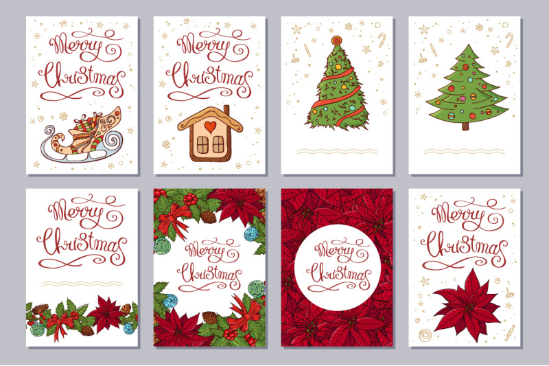 christmas-set-with-festive-handdrawn-elements