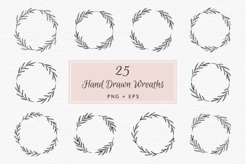 25-hand-drawn-wreaths