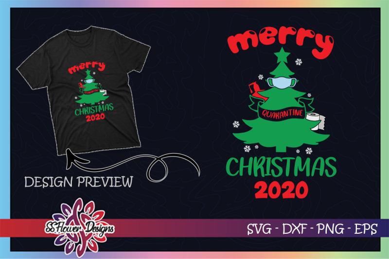 merry-quarantine-christmas-tree-mask