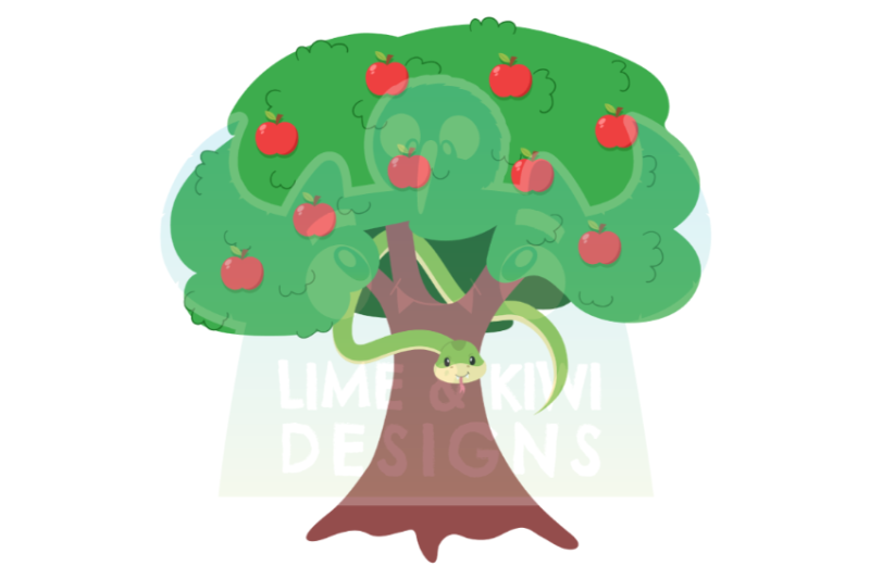 garden-of-eden-adam-and-eve-clipart-lime-and-kiwi-designs