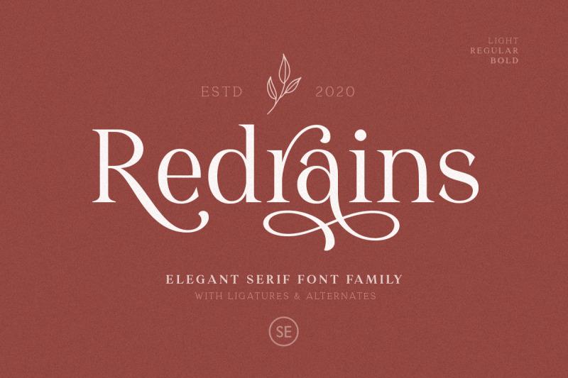 redrains-modern-serif-family
