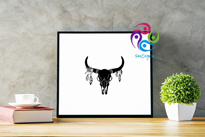 gorgeous-cow-skull-with-feathers-svg-file