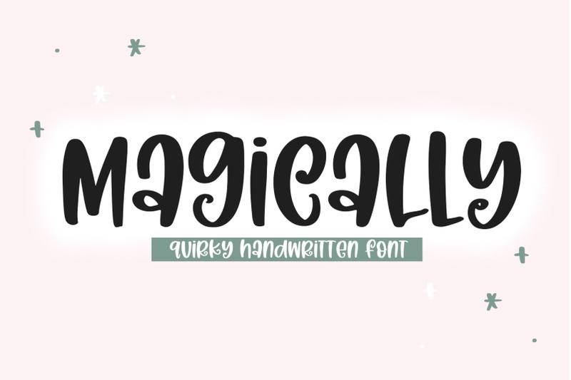 magically-quirky-handwritten-font