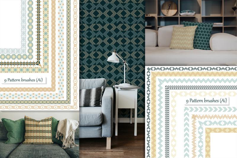 scandinavian-pattern-brushes