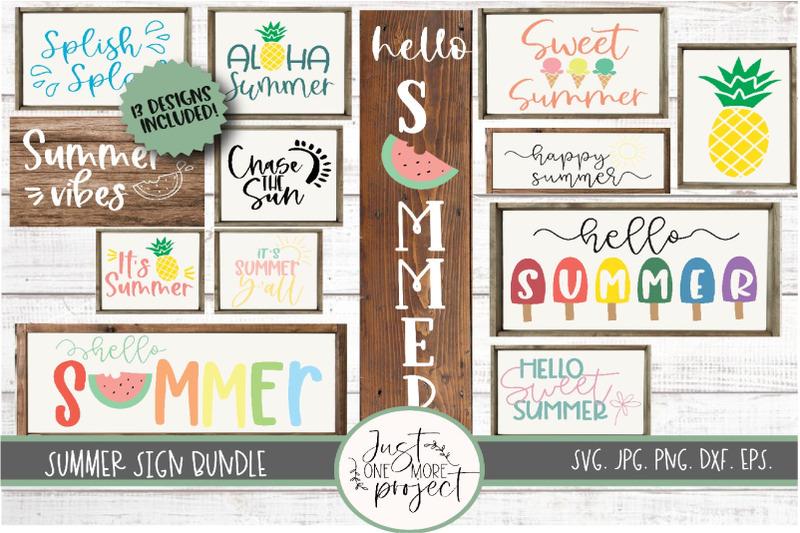 summer-sign-bundle-summer-sign-svg-hello-summer-svg-summertime-svg