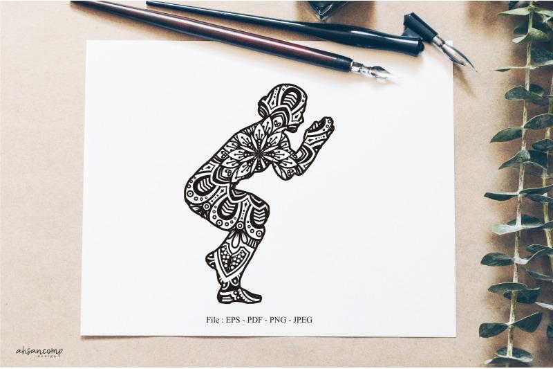 yoga-mandala-vector-line-art-style