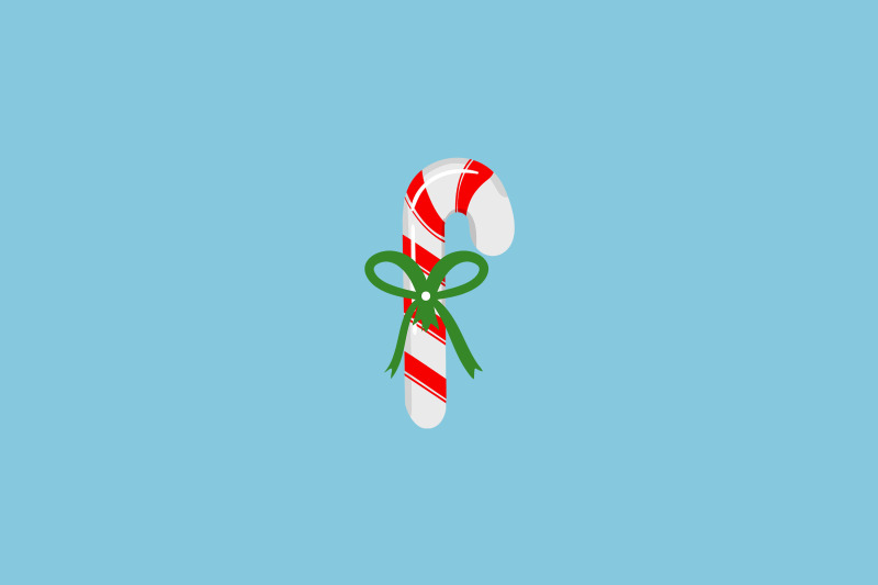 green-banded-peppermint-christmas-icon