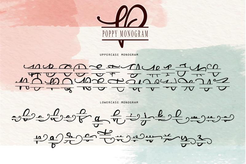 poppy-monogram