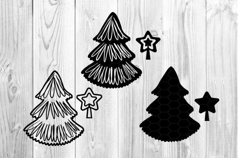 christmas-svg-pine-trees-3-designs-3-versions-clipart-set-2