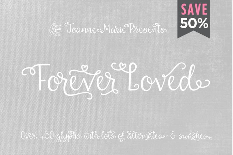 forever-loved-swash-font