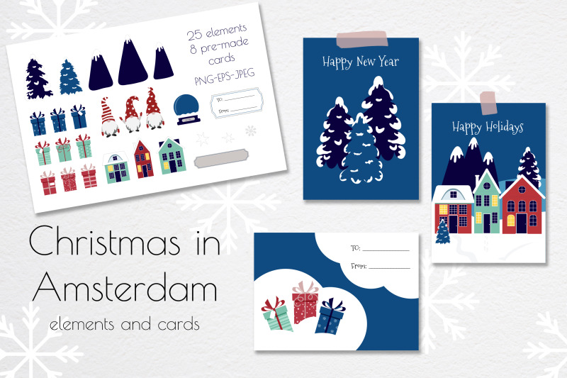 christmas-cards-set-pre-made-greeting-cards-and-christmas-elements