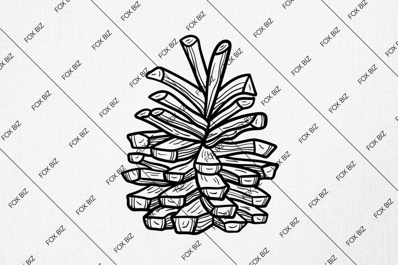 cone-cricut-digital-illustration-t-shirt-print-silhouette