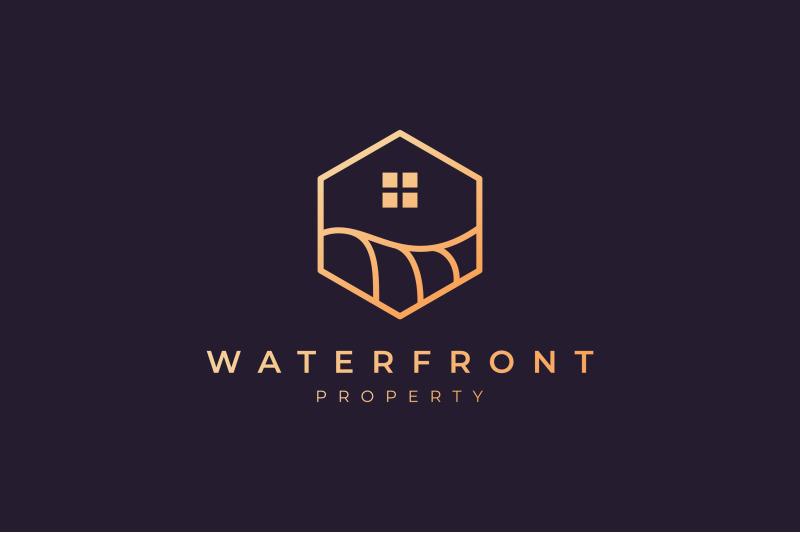 luxury-waterfront-property-logo