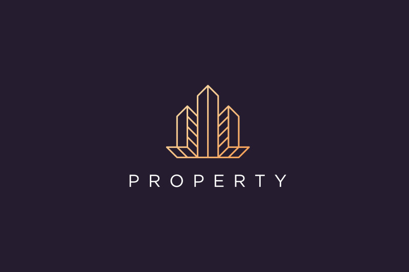 luxury-apartment-logo-in-modern-style