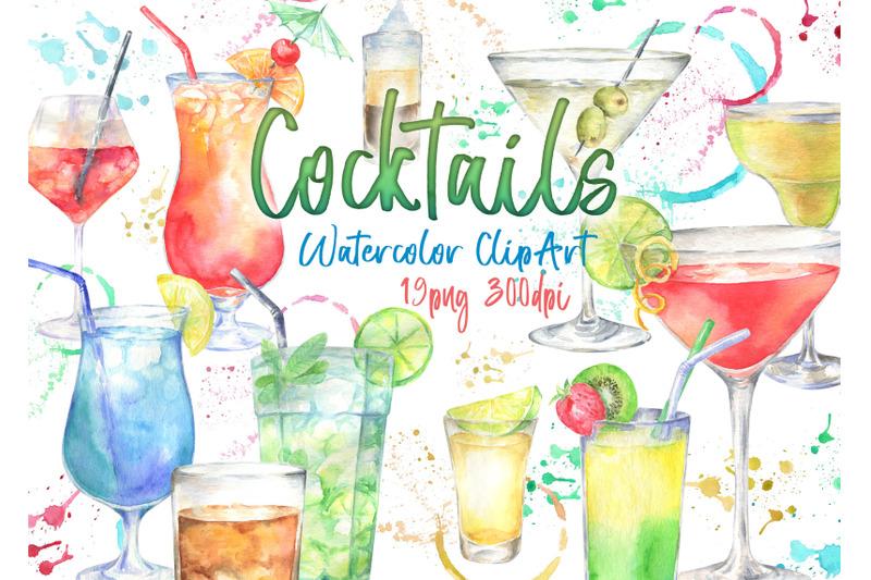 watercolor-alcoholic-cocktails-clipart-cocktail-illustration-clip-art