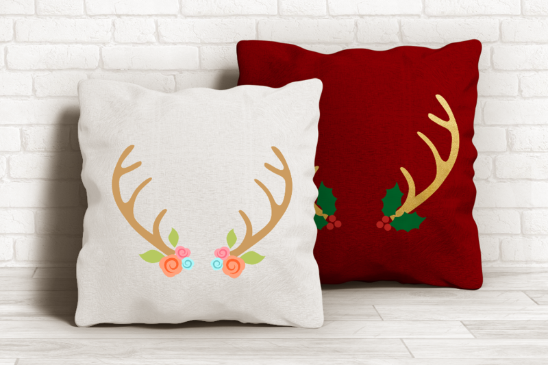 decorated-antlers-svg-png-dxf-eps