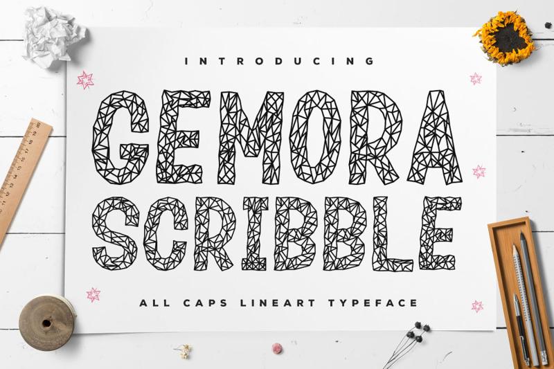 gemora-scribble-font