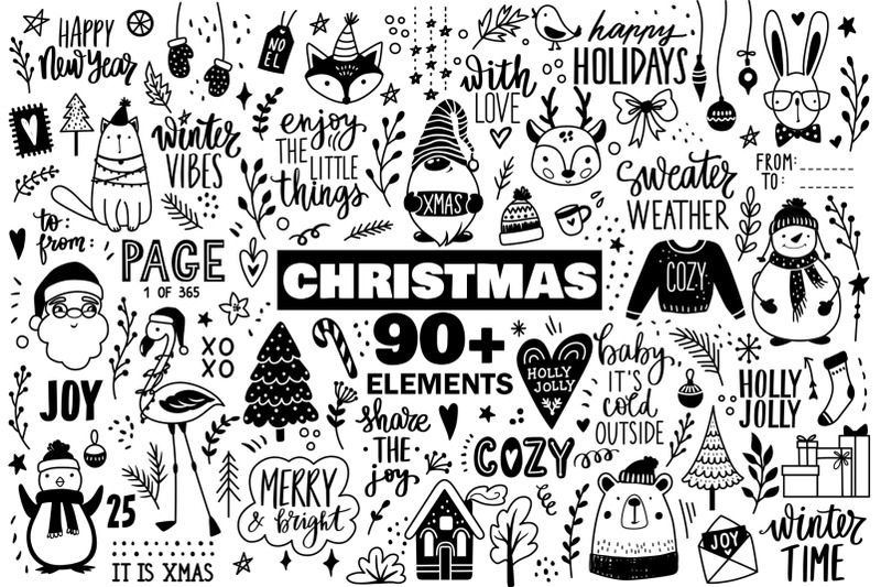 doodle-christmas-collection
