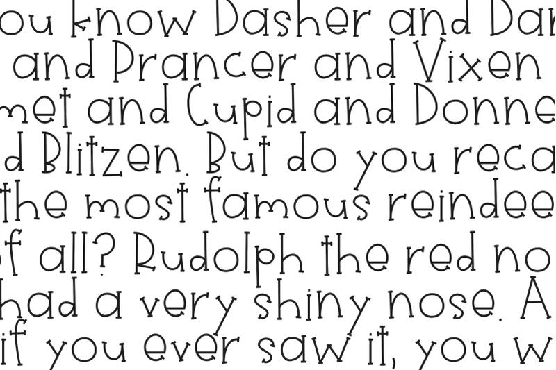 sleigh-fun-handwritten-font