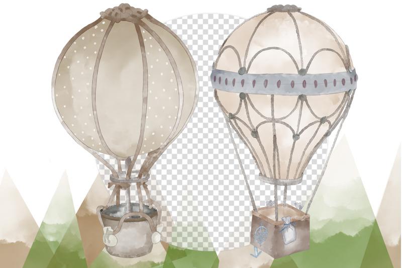nbsp-watercolor-air-balloons-6-illustrations