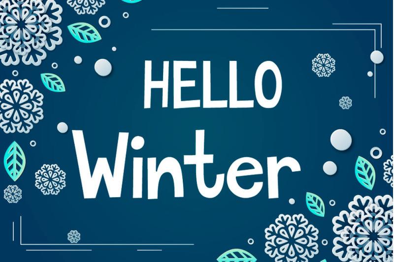 winter-memo-display-font