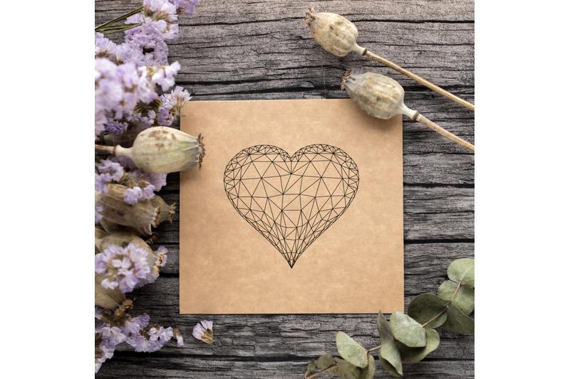 foil-quill-valentines-heart-single-line-sketch-design