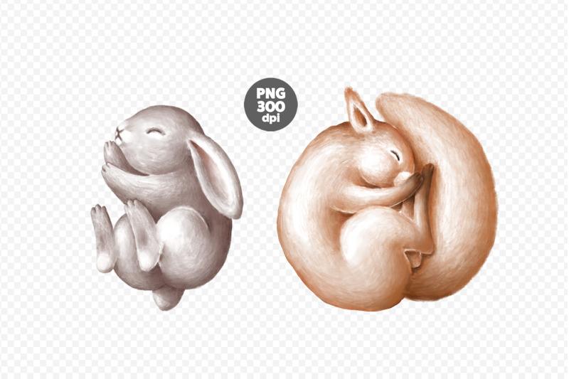 cute-sleeping-animals-clipart