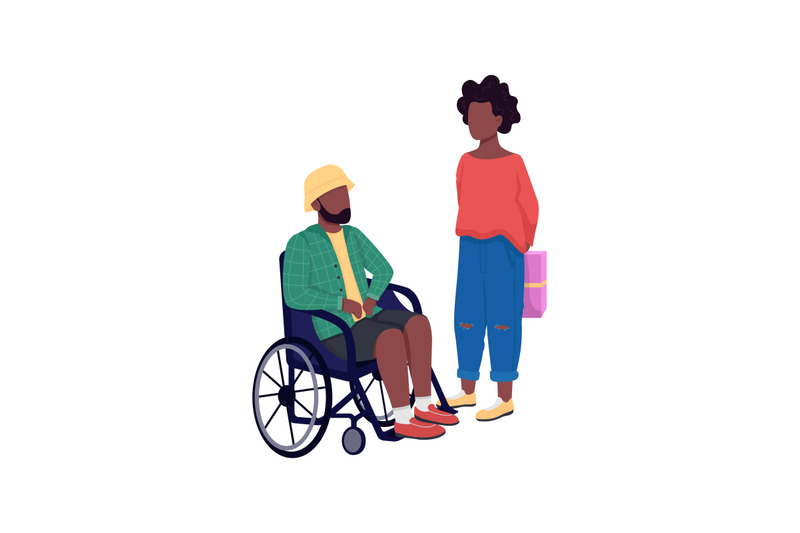 african-american-couple-flat-color-vector-faceless-characters