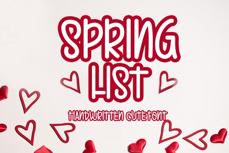 spring-list