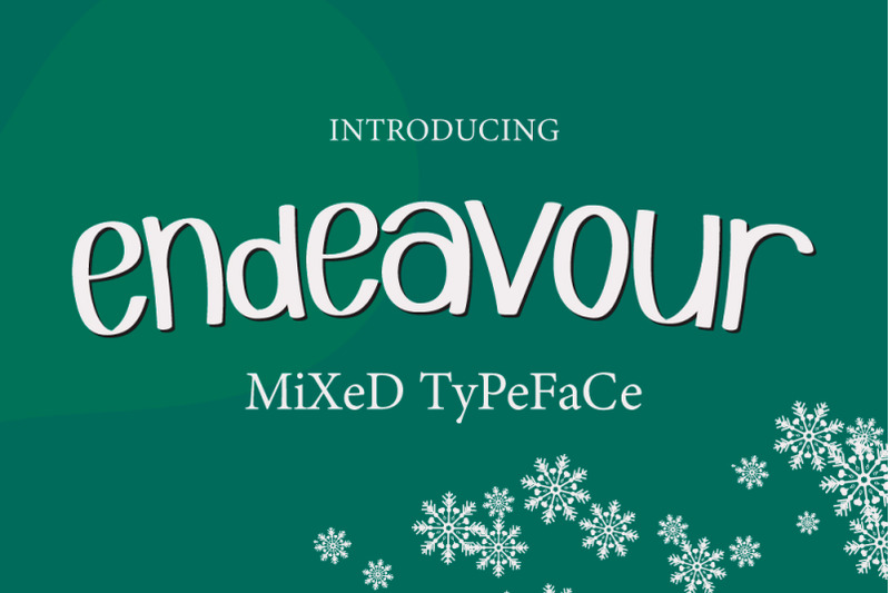 endeavour-mixed-typeface