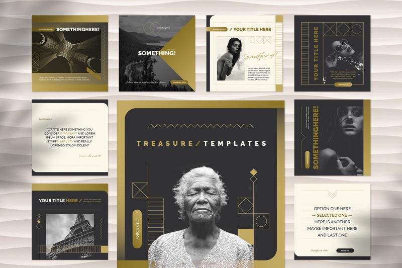 treasure-social-media-templates