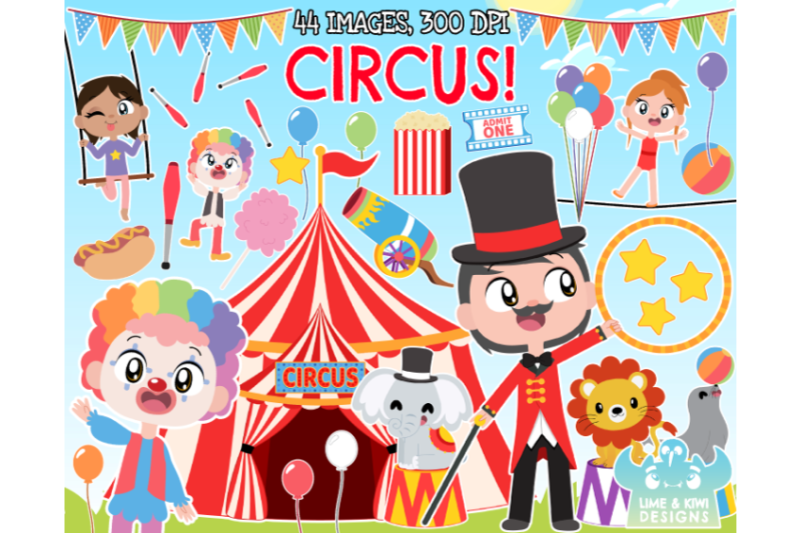 circus-clipart-lime-and-kiwi-designs
