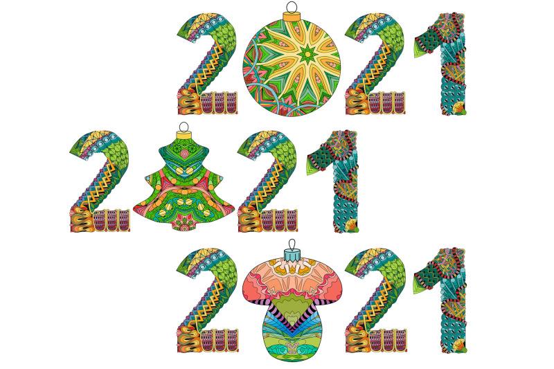 decorative-numbers-2021