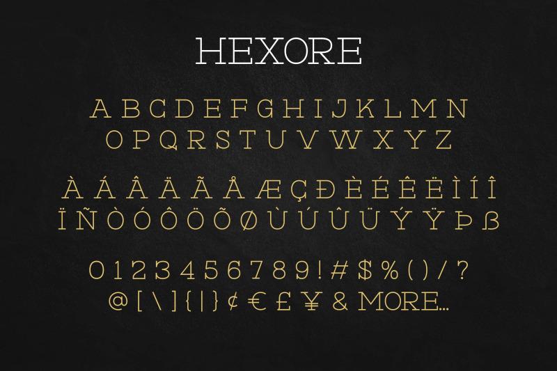 hexore