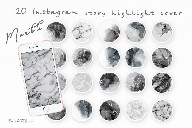 instagram-highlight-marble-icons