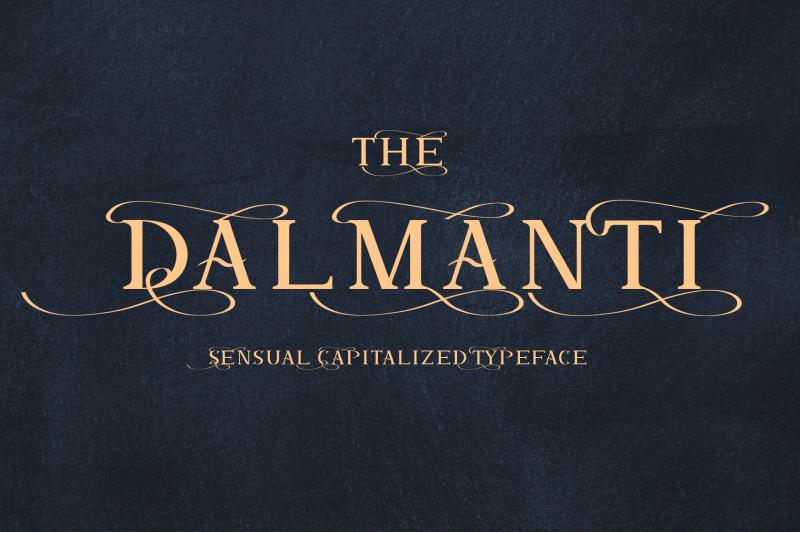 dalmanti-capitalized-typeface