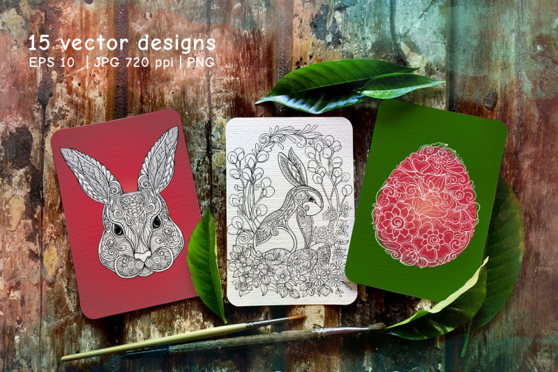 15-rabbits-and-easter-eggs-set